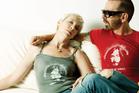 Eurythmics: Annie Lennox and Dave Stewart.