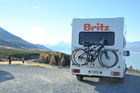 Tourism Holdings' main business is campervans with the Maui and Britz brands her.