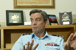 Former Defence Force chief Air Marshal Bruce Ferguson. Photo / NZ Herald