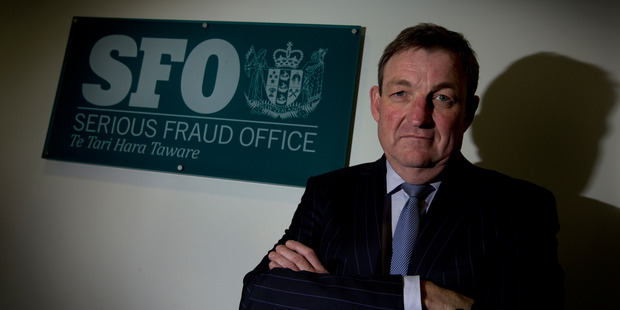 Simon McArley, acting head of the SFO, said Chalmers took advantage of his trusted position to access client funds for his personal benefit. Photo / Brett Phibbs