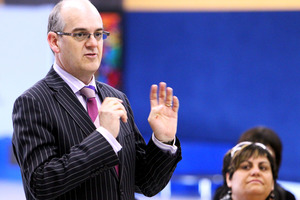 Minister of Health Tony Ryall