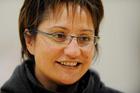 Silver Ferns coach Waimarama Taumaunu. Photo / NZPA