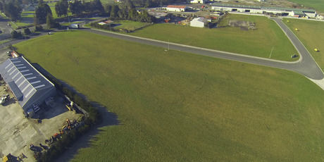 Seven sites are for sale in Tokoroa's Huttloc Drive Industrial Estate.