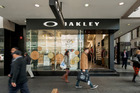 Oakley is a well-known brand with outlets around the world. It has a long-term lease on the shop.