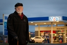 Phil Fewings, 82, was refused assistance at Mobil in St Heliers. Photo / Sarah Ivey