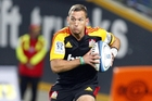 Chiefs first five-eighths Aaron Cruden was at the top of coach Dave Rennie's list when he got the job.