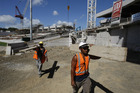 Construction firms are most upbeat, according to the latest business confidence survey. Photo / NZ Herald