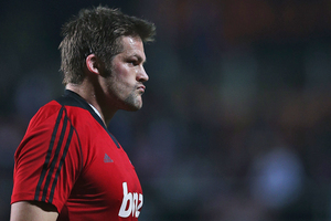Richie McCaw will get limited game time ahead of the first test against Australia. Photo / Getty Images