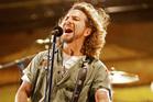 Pearl Jam singer Eddie Vedder.