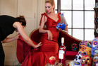Uma Thurman is the star of the 2014 Campari calendar.Photo / Koto Bolofo, Campari
