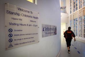 Starship Children's Hospital in Auckland. Photo / Natalie Slade