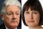 UNited Furture leader Peter Dunne and Fairfax journalist Andrea Vance had their email records sent to the Henry Inquiry. Photo / APN / Fairfax Media