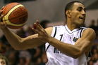 Mika Vukona grabbed 16 points and 14 boards as the Tall Blacks won their third straight game. Photo/Getty Images.