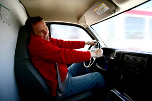 'She's coming out, she's coming out!' Childbirth can test even the best dads when they're behind the wheel. Photo / Thinkstock