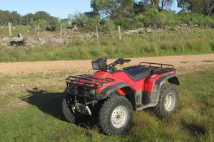 A man who drove drunk on a quad bike has avoided jail time. Photo / Thinkstock