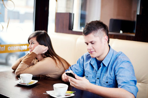 Have you ever been a victim of phubbing?Photo / Thinkstock