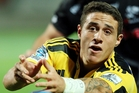TJ Perenara is one of three halfbacks named in the 28-man squad. Photo / Getty Images