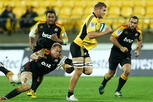 Brad Shields appeared in all the Hurricanes' games this year. Photo  / Getty Images
