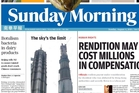The recall made the front page of Hong Kong's Sunday Morning Post.