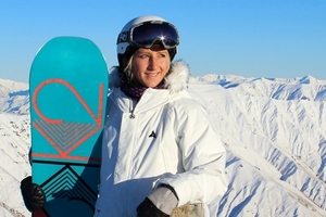 Rebecca Sinclair is vying for a spot on the NZ Winter Olympics team for Sochi.