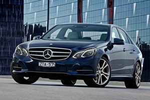 Mercedes-Benz E300 diesel hybrid.