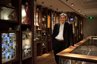 Pamuk in the Museum of Innocence. Photo / Supplied