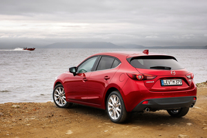 The all new Mazda3 is heading to the Frankfurt motor show via Russia.