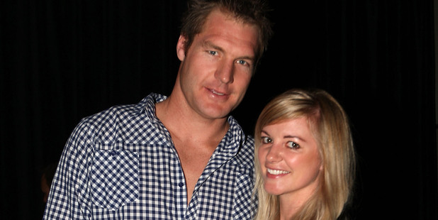 Ali Williams and his wife Casey are off to Toulon in a few weeks. Photo / Getty Images