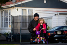 Thomas Sutton wants an affordable property for himself and his 3-year-old daughter, Chanelle. Photo / Sarah Ivey