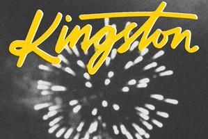 Album cover for Black & Bloom by Kingston.