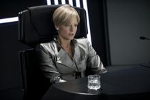 Secretary Delacourt, played by Jodie Foster, in Elysium.