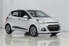The new Hyundai i10 will be launched at Frankfurt motor show in September and is for the Europe market.
