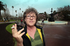 Sally O'Brien will pay up to smoke in a park. Photo / Doug Sherring