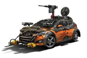 Hyundai's classy zombie killer. Photo / Supplied