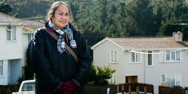 Otu Ahiao has lived in Cannons Creek since 1979. Photo / Hagen Hopkin