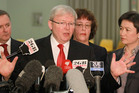 Prime Minister Kevin Rudd. Photo / Getty Images