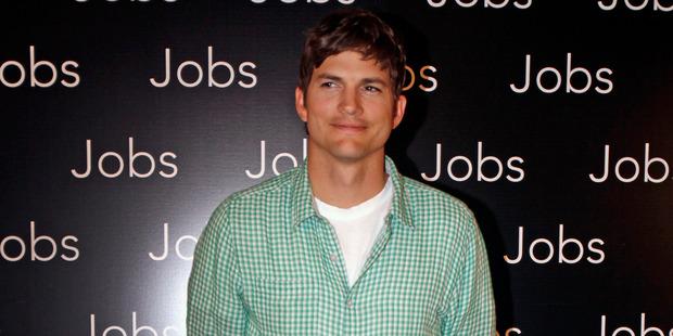 Loading Actor Ashton Kutcher fell ill after copying Steve Job's diet. Photo / AP