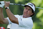 Phil Mickelson is confident he knows Oak Hill well. Photo / AP