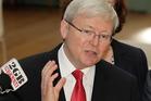 Australia's Prime Minister Kevin. Photo / AP