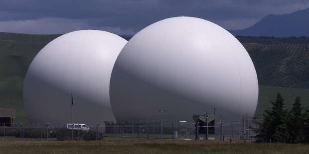 The Waihopai Valley Satellite Station near Blenheim. Photo / NZH