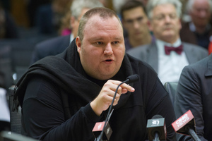 At the Mt Albert meeting, Kim Dotcom described this vast electronic network as a 'Spy Clou'. Photo / Mark Mitchell