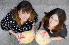 Maree Glading and Jessie Stanley from I Love Pies. Photo / Steven McNicholl