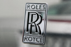 Rolls-Royce was seize from its container by police. Photo / Wayne Drought