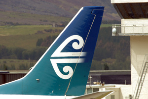 Air New Zealand. Photo / Ross Setford