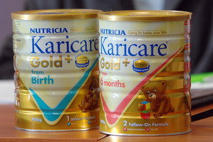 Karicare products were recalled under suspicion that they may have been contaminated. File photo / NZ Herald