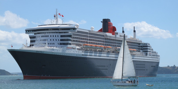 Last summer cruise ships brought more than 211,000 passengers to our shores. Photo / Peter de Graaf