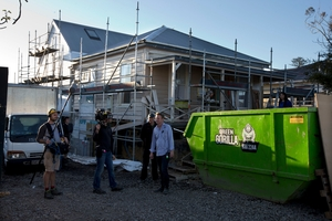 The TV3 show features contestants renovating four houses room-by-room, week-by-week. Photo / Brett Phibbs