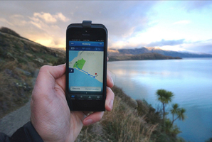 Queenstown entrepreneur Boyd Peacock has created an app which privately tracks a user's activity to ensure their safety. Photo / ODT