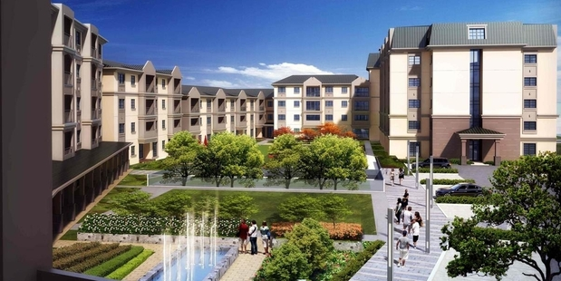 An artist's impression of The Poynton, one of the retirement village projects on the North Shore.