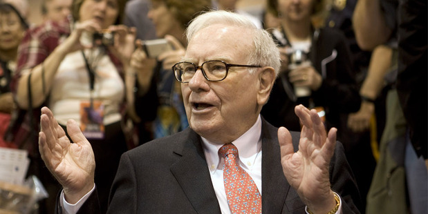 Warren Buffett. Photo / AP